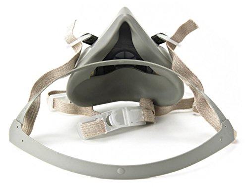 3M 3M-6200 Half Facepiece Reusable Respirator, Without Cartridges(Medium) 7