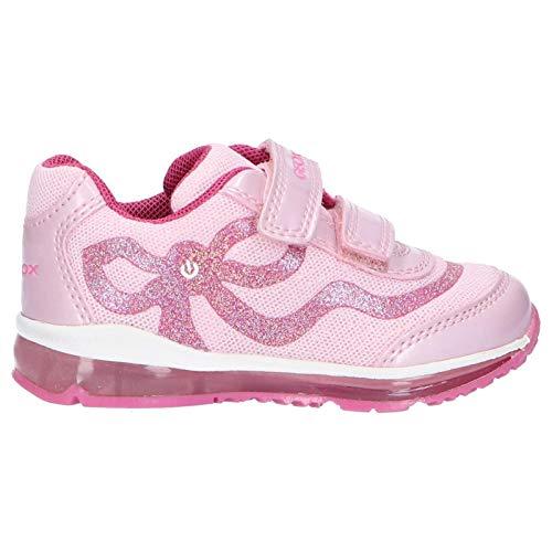 Geox B Todo Girl A, Scarpe da Ginnastica Basse Bimba, Rosa (Pink/Fuchsia C0799), 21 EU