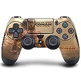 PS4 DualShock Wireless Controller Pro Konsole PlayStation4 Controller mit weichem Griff und exklusiver individueller Version Skin (PS4-Conan Exiles)