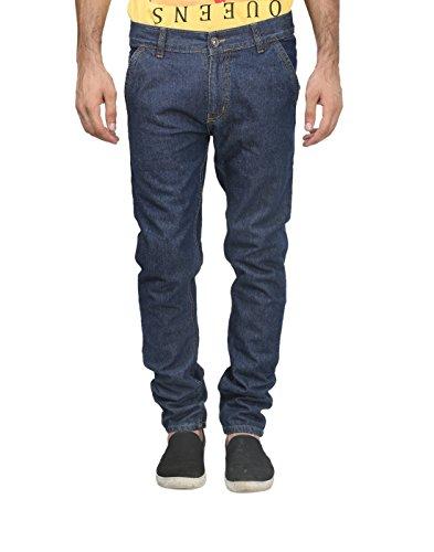 Trendy Trotters Mens Denim Jeans (Ttj1Crsnl-D32 _Dark Blue _32)