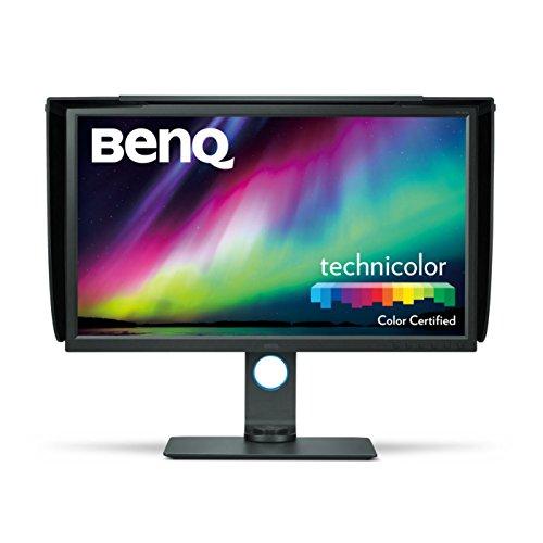 BenQ SW320 80,01 cm (31,5 Zoll) 4K LED Monitor (UHD 3840 X 2160 Pixel, 100{ca917ec1188aca39d3642203a7d41b5310a7c2484f80e59c7cf05c228a598f36} REC. 709, 99{ca917ec1188aca39d3642203a7d41b5310a7c2484f80e59c7cf05c228a598f36} Adobe RGB, 14bit 3D LUT, IPS-Technologie) schwarz
