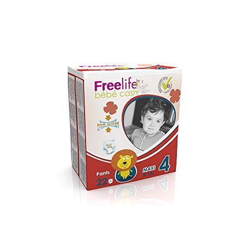Freelife Bebe Cash - Pannolino pull-up, 8-15 kg, Maxi 4