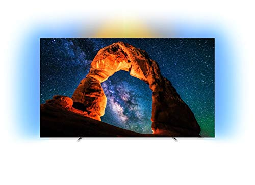 Philips 803 Smart TV OLED 4K UHD da 55'', Ambilight, Razor Slim, Android TV