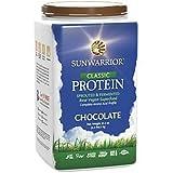 Sunwarrior Classic Raw Vegan Superfood Protein Powder, Chocolate, 1kg