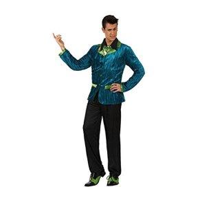 Atosa- Disfraz hombre dandi años 50, Color verde, XL (12110)
