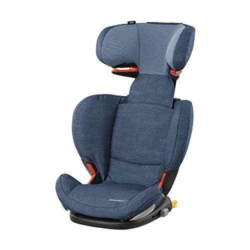 Bébé Confort RODIFIX AirProtect 'Nomad Blue' - Silla de auto para niño con ISOFIX, R44/04, reclinable, segura y ligera, desde los 3,5 hasta los 12 años, 15-36 kg,gr.2/3, color azul