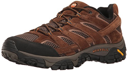 Merrell Herren Moab 2 Vent Trekking und Wanderhalbschuhe, Braun (Earth), 44 EU
