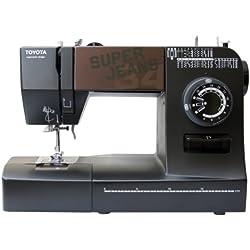 Toyota 34B Super Jeans Sewing Machine, Black
