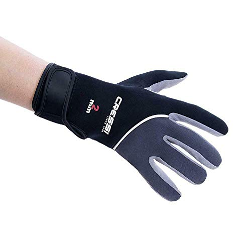 Cressi Tropical Gloves - Guanti per Attivita' Acquatiche in Amara e Neoprene 2mm Unisex Adulto, M,...
