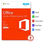 Microsoft Office Famille et Petite Entreprise 2016