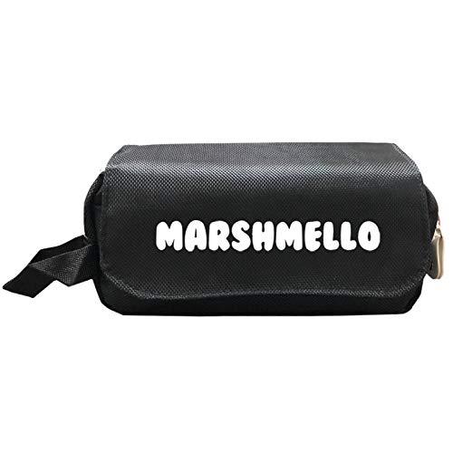 YOUXIANG Marshmallow - Astuccio in tessuto Oxford, per cancelleria e cancelleria 3