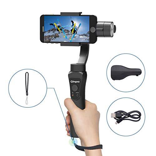 Gimpro Gimbal Stabilizzatore Smartphone, Gimbal 3 Assi Gimbal Smartphone