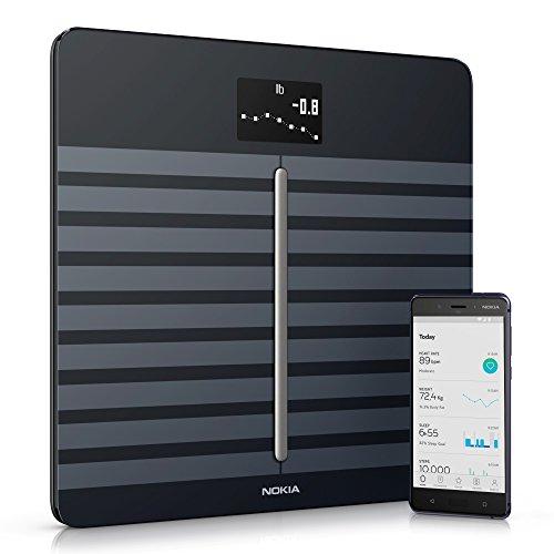 Withings / Nokia Body Cardio - WLAN-Körperwaage mit Funktion für Körperzusammensetzung & Herzfrequenz