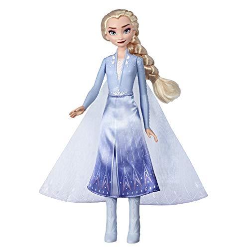 Hasbro Disney Frozen - Elsa Luci del Nord Bambola Ispirata al Film Disney Frozen 2, Multicolore, E7000ES0