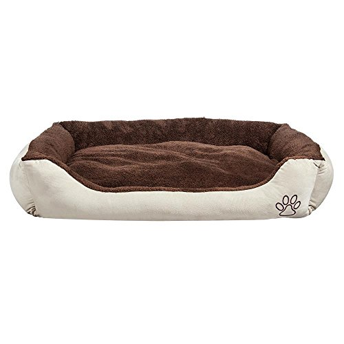Yaheetech Hundebett Hundekissen Hundesofa Katzenbett Bett mit Kissen waschbar