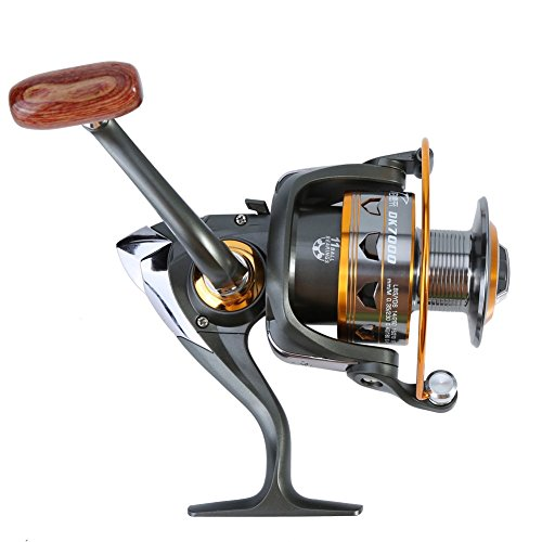 pesca casting Reel, 7taglie Durable Portable Heavy Duty Saltwater spinning casting pesca bobina 1000-7000Series, 7000