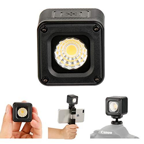 L1 Versatile Mini LED Light Professionale Impermeabile Avventura Illuminazione per Smartphone DJI Gopro Canon Nikon Fotocamera Subacquea, Bicicletta Camping Fotografia Video