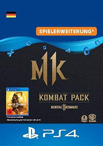 MortalKombat11 Kombat-Pack - PS4 Download Code - deutsches Konto Edition   PS4 Download Code - deutsches Konto