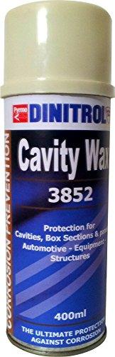 DINITROL 3852 PENETRANT, Vehicle Rust Prevention Cavity Wax Aerosol 400ml