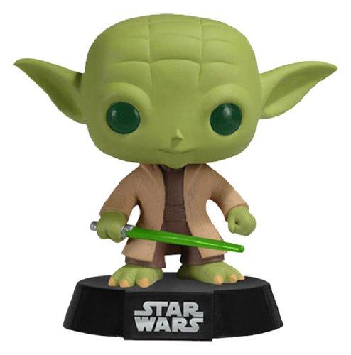 Funko - Yoda figura de vinilo, colección de POP, seria Star Wars (2322)