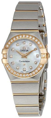 Omega Constellation Brushed Quartz 123.25.24.60.55.001