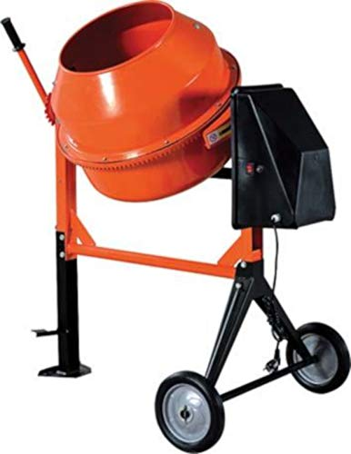 Betoniera elettrica 120 litri Hand 550W a bicchiere impastatrice ristrutturazione