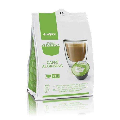 96 CAPSULE COMPATIBILI DOLCE GUSTO GIMOKA CAFFE' AL GINSENG