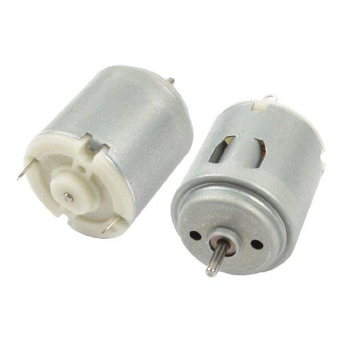 """2 PEZZI DC 3V-6V R260 Mini Motori per Telecomando Auto Giocattolo - Nome Prodotto : R260 DC Mini Motore;Voto Tensione : DC 3V-6V - Dimensioni albero: 2 x 8mm / 0.08 """"x 0.31"""" (D * L); Corpo Dimensioni: 2,36 x 2,7 centimetri / 0,93 """"x 1.1"""" (D *..."""