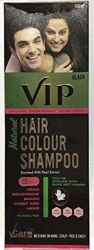 Vip Hair Colour Shampoo -180ml
