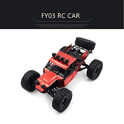 TianranRT FY03 Scala 1:12 2.4G 4WD High Speed   Off-Road Vehicle Upgrade Brushless RC Car (Rosso)