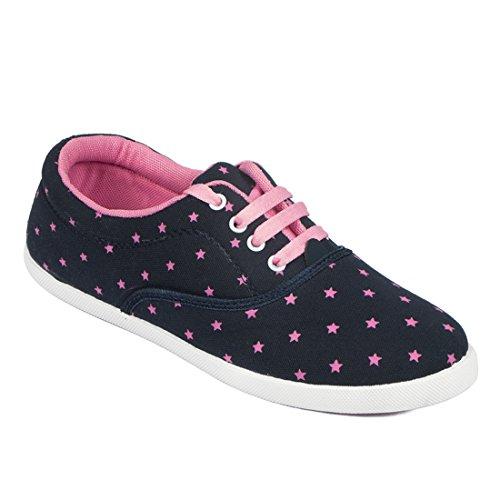 Asian Shoes Women's Mesh Combo Of 2 Casual Shoes 8
