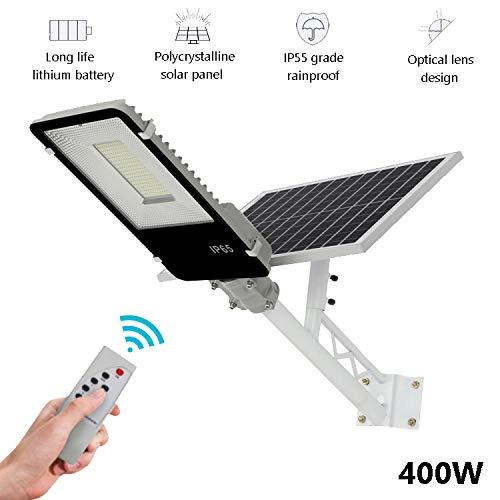SOLIGHTS LED Lampione Stradale Esterno Impermeabile Luci Solari con Pannello Fotovoltaico...