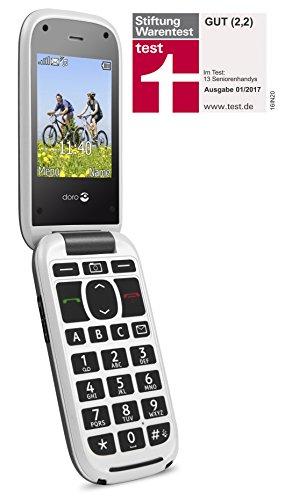 Doro PhoneEasy 613 Téléphone Portable à Rabat au Design élégant avec Appareil Photo 2MP, écran et Touches Larges, Bouton d'appel d'urgence 9