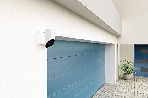 41PrbLZ0JtL [Bon Plan Domotique] Somfy 2401563 - Outdoor Camera   Caméra de surveillance extérieure Wifi   1080p Full HD   Sirène 110 dB   3 branchements possibles