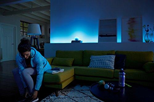 41PwH0HBkVL [Bon Plan Smarthome!]  Philips Hue Kit de démarrage White and Color Ambiance avec 3xE27 10W [pont et interrupteur avec variateur inclus...