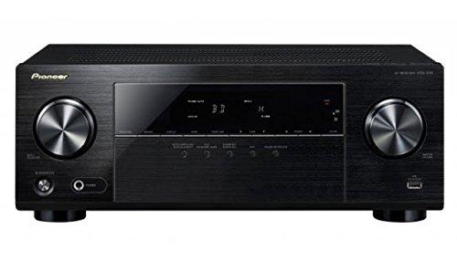 Pioneer VSX-330 5.1CH AV Receiver with Dolby TrueHD, DTS-HD Master Audio, 3D & Ultra HD 4K Passthrough