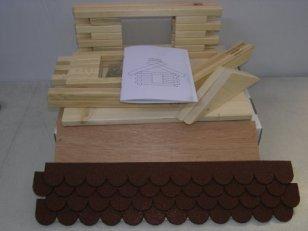 Vogelhaus-Bausatz-Gro-Rot-23211