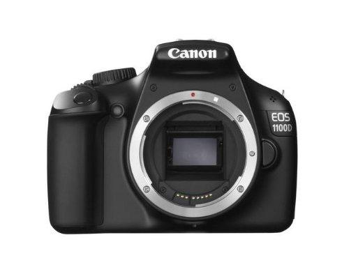 Canon EOS 1100D Body Fotocamera Digitale Reflex 12 Megapixel, Nero
