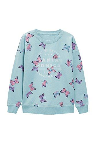 next Mujer Jersey con Estampado De Mariposas