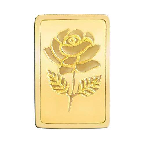 Malabar Gold and Diamonds BIS hallmarked 2 gm, 24KT (999) Yellow Gold Bar