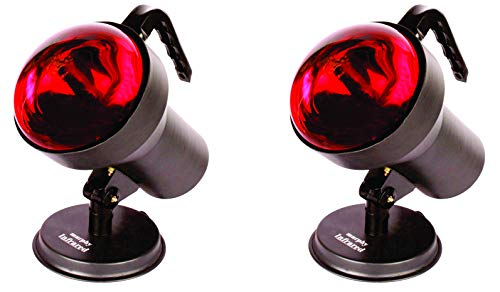 Murphy ML-0040 Infrared Heat Therapy Lamp (Black) - Pack of 2
