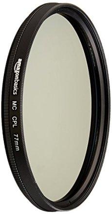 AmazonBasics - Filtro polarizador circular - 77mm
