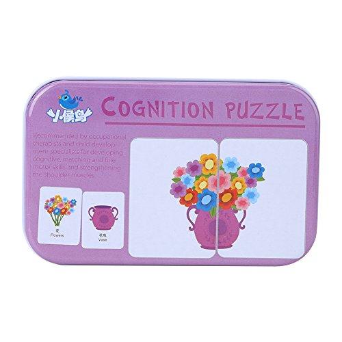 Veicolo / Animale / Frutta / Articoli per vita Formazione didattica Bambino Educativo precoce Puzzle...