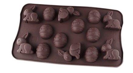 Dr-Oetker-Silikon-Schokoladenform-Frhliche-Ostern-14er-Silikon-Schokoladeneier-Schokoladenform-Osterhase-Schokohasen-fr-Kuchen-Menge-1-Stck