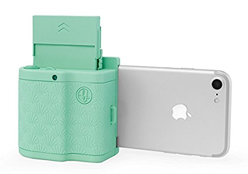 #Prynt Pocket mintgrün, kompakter iPhone Fotodrucker, Sofortbildkamera#