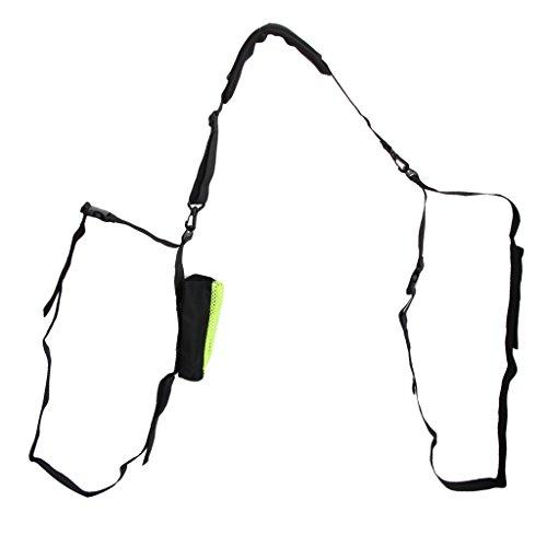 Sharplace 1 Pieza de Correa Acolchada de Hombro con Clip de Liberación Rápida para Tablas de Surf Material Nylon