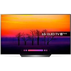 LG - OLED55B8 - 140cm - OLED UHD/4K Smart TV - Processeur intelligent A7 - Modèle 2018