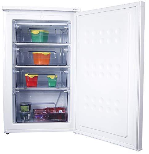 PremierTech Congelatore Verticale Freezer 88 litri -24°gradi A++ 4**** Stelle (88 Litri)