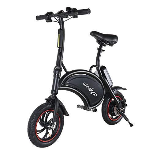 Windgoo Bicicletta Elettrica, E-Bike, Bicicletta Elettrica Pieghevole,Ruota 12'', LG 36V/4.4Ah,...