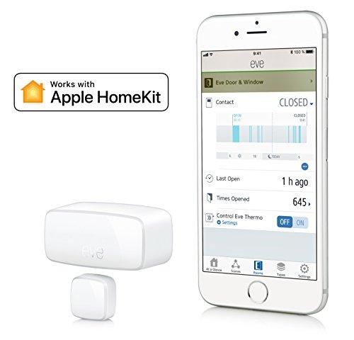 Eve-Door-Window-Capteur-de-contact-sans-fil-avec-technologie-Apple-HomeKit-Bluetooth-Low-Energy